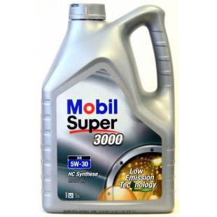 MOBIL Mootoriõli 5W30 SUPER 3000 XE 5L