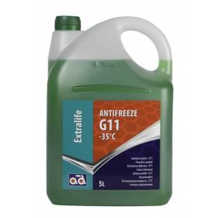 AD Antifriis ANTIFREEZE AD -35C G11 GREEN 5L