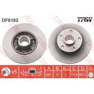 Brake Disc TRW DF6182