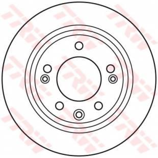 Brake Disc TRW DF6123