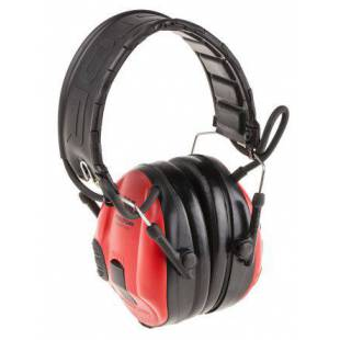 3M 3M™ PELTOR™ SportTac™ Hearing protection Shootingfoldable headband red/black MT16H210F-478-RD