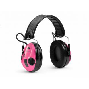 3M 3M™ PELTOR™ SportTac™ Hearing protection Huntingfoldable headband Pink MT16H210F-478-RE