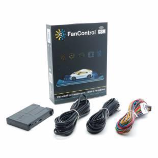 TECEL Preheater Control Module FanControl GSM