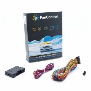 TECEL Preheater Control Module FanControl U2