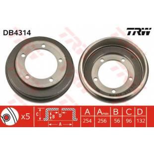 Brake Drum TRW DB4314