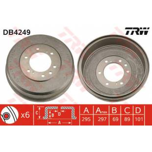 Brake Drum TRW DB4249