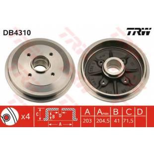 Brake Drum TRW DB4310