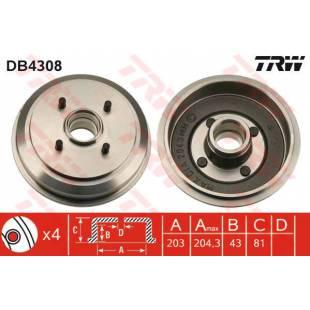 Brake Drum TRW DB4308