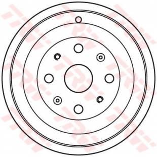 Brake Drum TRW DB4393