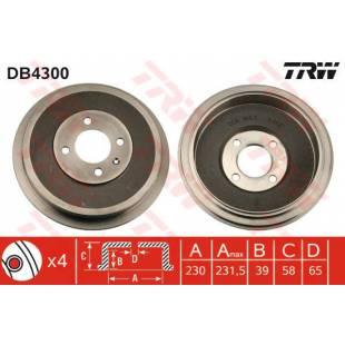 Brake Drum TRW DB4300