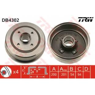 Brake Drum TRW DB4302