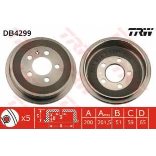 Brake Drum TRW DB4299