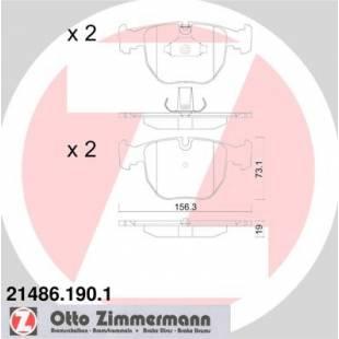 Bake Pads ZIMMERMANN 21486.190.1