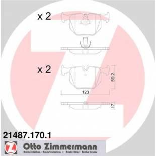 Bake Pads ZIMMERMANN 21487.170.1