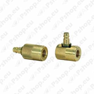 COMPRESSED AIR ADAPTOR SET. 2PCS