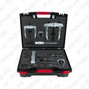Precision internal extractor and puller set, 14 pcs, Ø10-115mm KS TOOLS