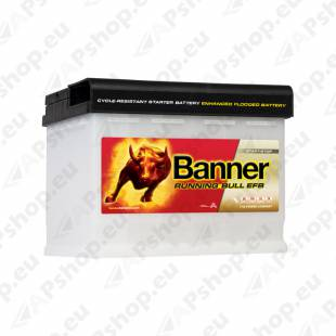 BANNER AKU RUNNING BULL EFB 60AH 241X175X190 - + 560A