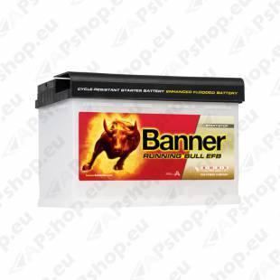 BANNER AKU RUNNING BULL EFB 70AH -+278X170X190 660A