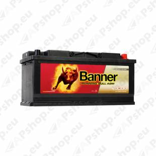 BANNER AKU RUNNING BULL AGM 105AH 394X175X190 - + 950A