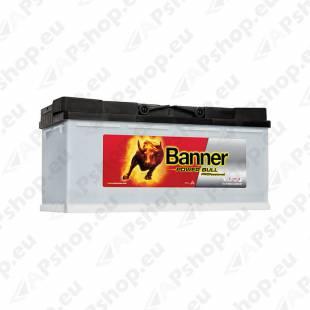 BANNER AKU POWER BULL PRO 100AH 354X175X190 - + 820A