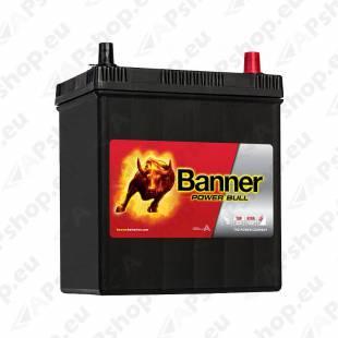 BANNER AKU POWER BULL 40 AH 187X127X204/226 - + 330A