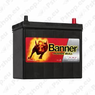 BANNER AKU POWER BULL 45 AH 238X129X203/225 - + (KLEMM 1+3) 390A