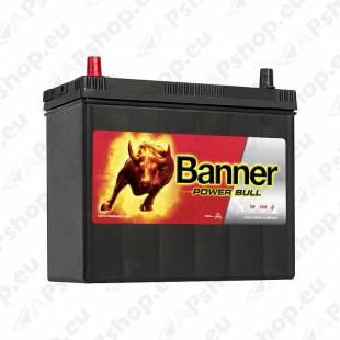 BANNER AKU POWER BULL 45 AH 238X129X203/225 + - (KLEMM 1+3) 390A