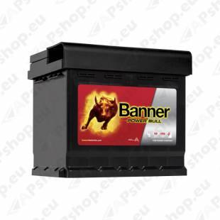 BANNER AKU POWER BULL 50AH 210X175X190 - + 450A