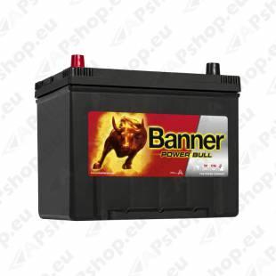 BANNER AKU POWER BULL 70AH 260X174X200/222 + - 600A