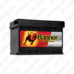 BANNER AKU POWER BULL 72AH 278X175X175 - + 670A (CARRIER)