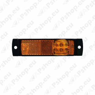 L1046 KÜLJETULI LED KOLLANE. 12/24V. ILMA JALATA 130X32X14.5MM