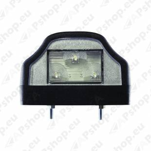 NUMBRITULI LED 12/24V. TÜÜP ASPÖCK. 100X60X65MM