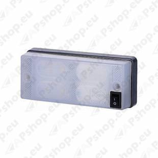 LWD658 SALONGI SISEVALGUSTI LED LÜLITIGA 12/24V (107.6MMX45.6MM)