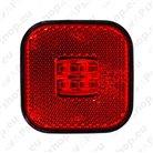 LED side lights, outline marker lights, indicator lights