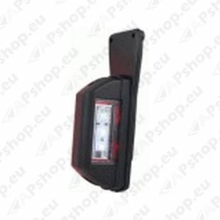 LD731/L KÜLJETULI LED VALGE - PUNANE VASAK 130X44X45MM