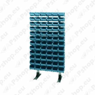 (ART PLAST 302) LADUSTUSKARPIDEGA STEND. 1250X600MM. 54TK NR102. SÜGAVUS 300MM.