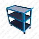Cupboards, carts, shelves