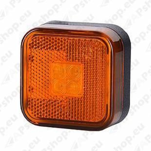 KÜLJETULI LED KOLLANE 62X62MM 12/24V 0.5M JUHTMEGA 81252606101