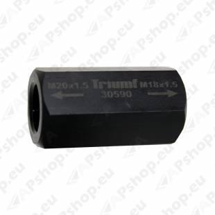 SPINDLI ÜLEMINEK M18X1.5 -M20X1.5 SISE-SISE TRIUMF
