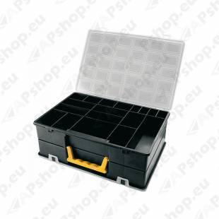 4400 PLASTKARP LAHTRITEGA 2.-POOLNE 360X252X128MM. ARTPLAST
