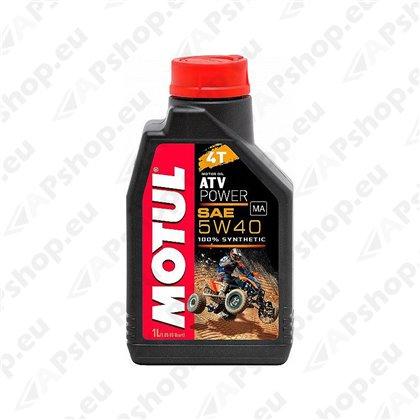 MOTUL ATV POWER 5W40 4T 1L 100% SÜNT.