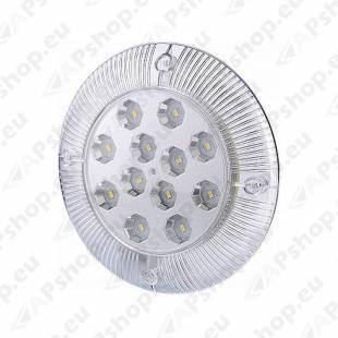 LWD959 SALONGI SISEVALGUSTI LED (190MM) 12V 6.5 W