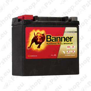 BANNER AKU BACK UP AGM AUX14 12V 200A 150X88X145