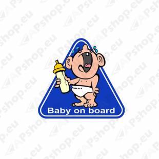 KLEEBIS AVISA BABY ON BOARD