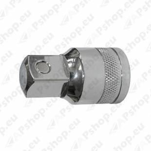 "1/2"" ADAPTOR FOR OIL FILTER DRAIN 8MM WITH MAGNET"