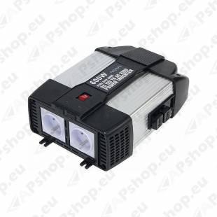 INVERTER 12V-230V 600/1200W +USB PSW6043U GYS