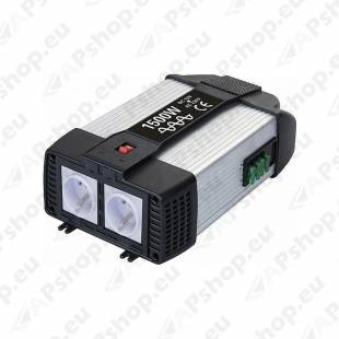 INVERTER 24V-230V 1500/3000W + USB PORT PSW6047U GYS