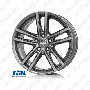 RIAL X10 GR 8.0X18. 5X120/43 (72.6) (GR) (BMW) ECE KG730 EH2+