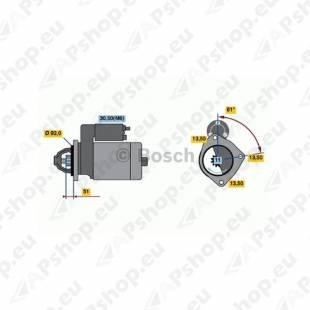 MOTOTRUCK STARTER MB ACTROS. O580 11HAMMAST