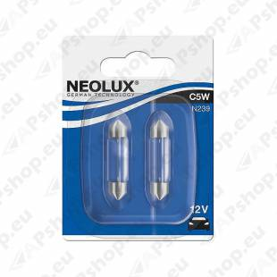 PIRN C5W 12V SV8.5-8 36MM BLISTER-2TK NEOLUX